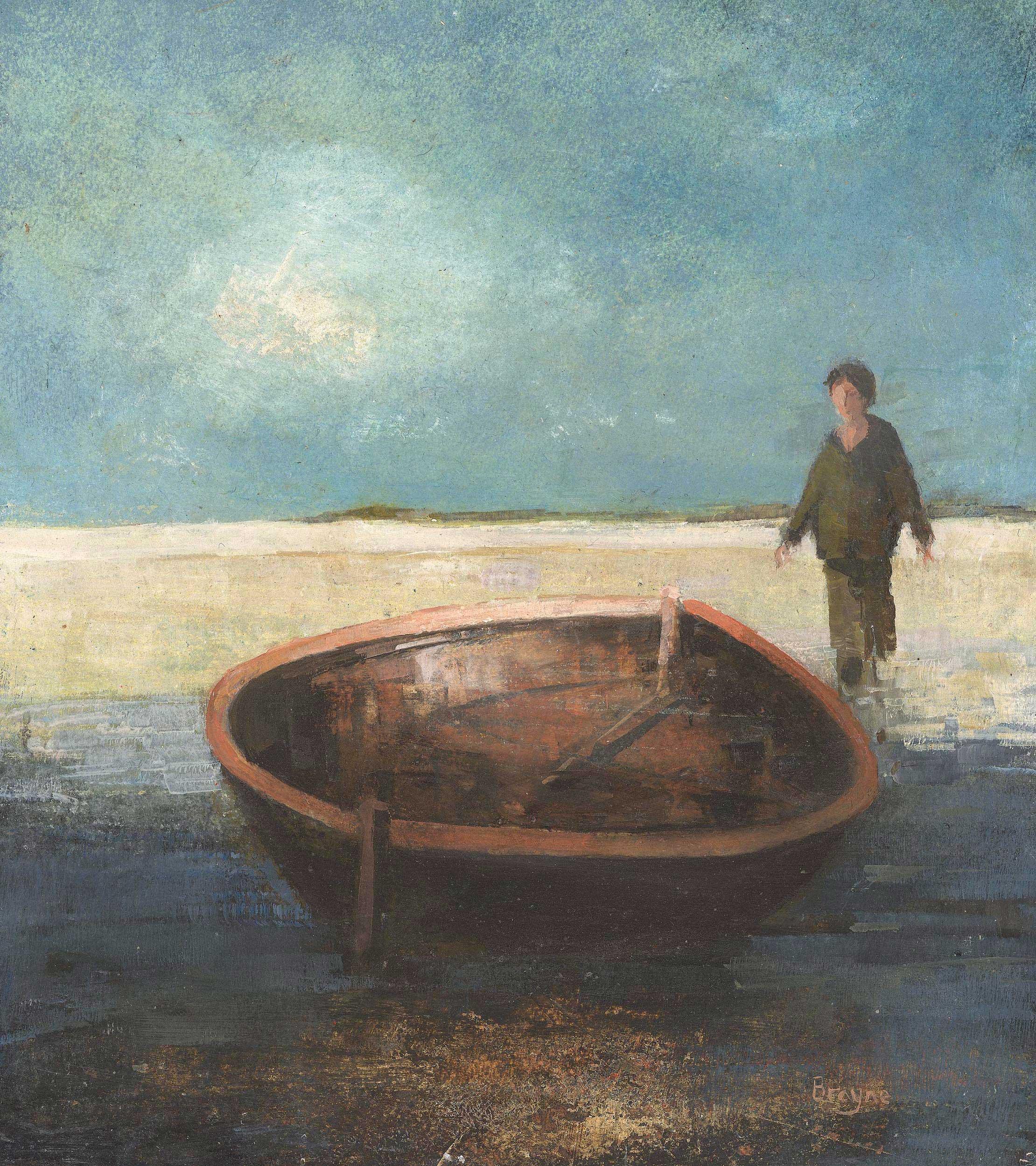I Go to the Sea II by David Brayne RWS