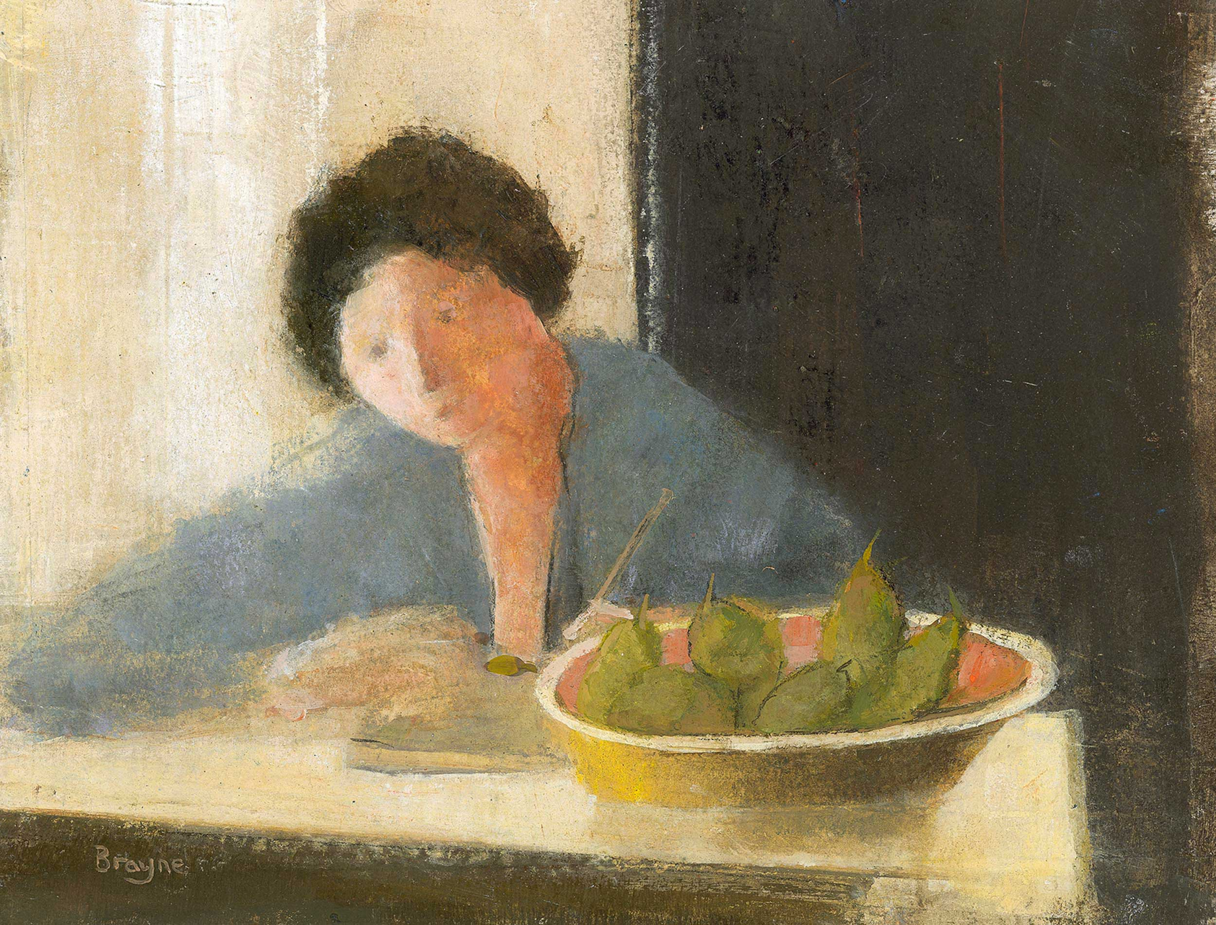 Painting Still Life by David Brayne RWS
