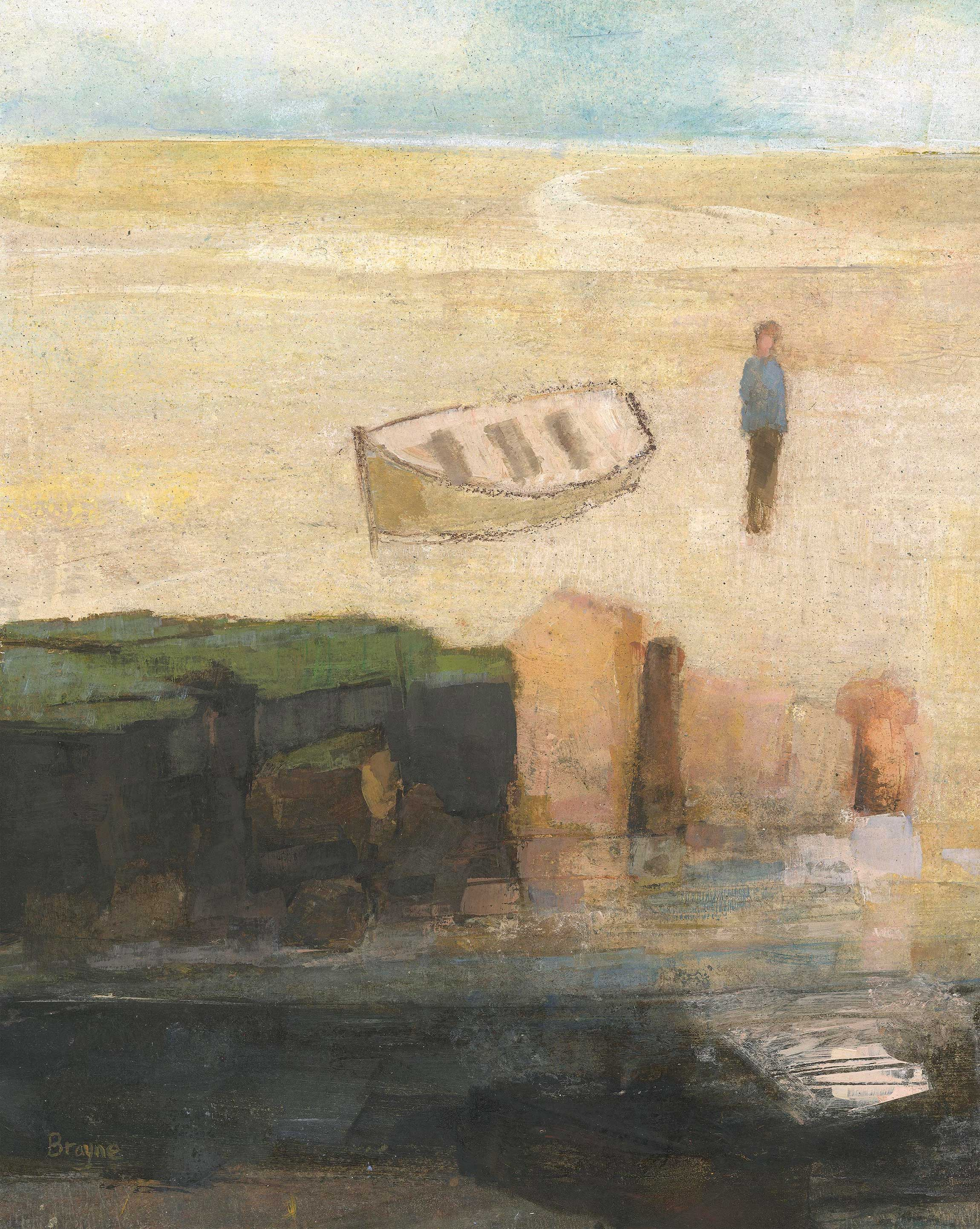 Rockpool by David Brayne RWS