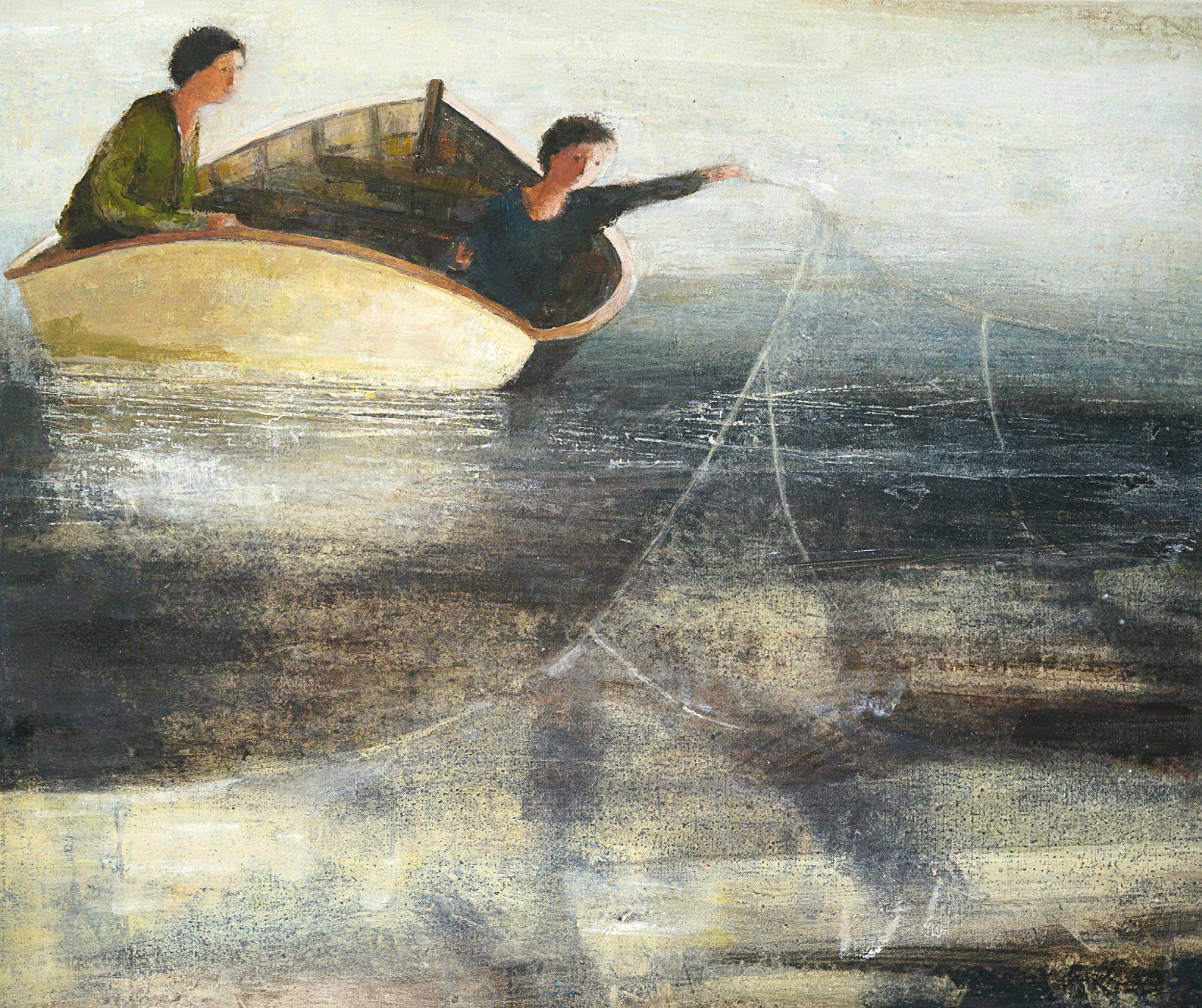 Wide Net II by David Brayne RWS