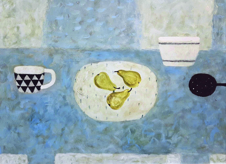 Pear Trio by Sarah Bowman